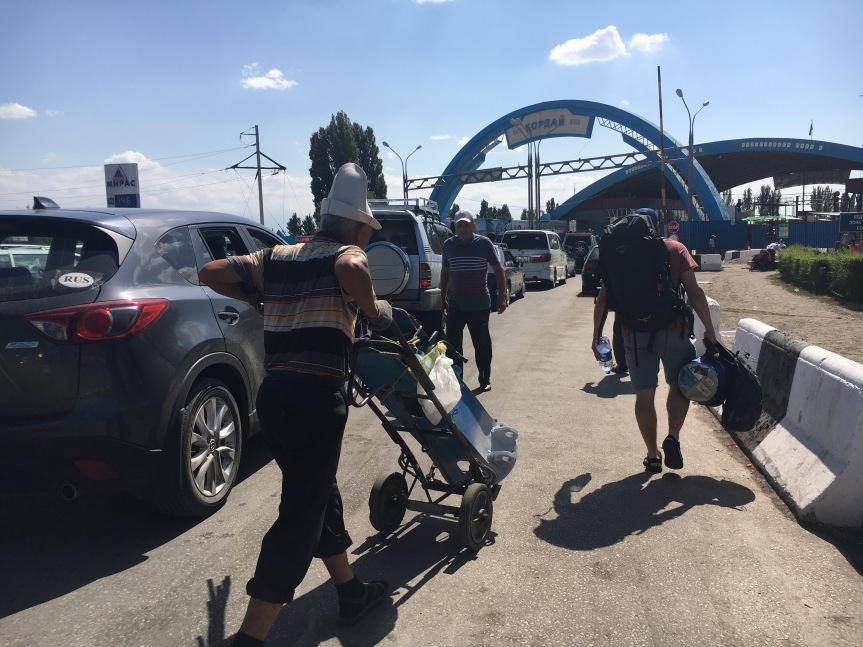 Kazakhstan to Kyrgyzstan BorderCrossing